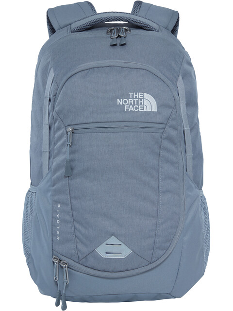 The North Face Pivoter Backpack Mid Grey Dark Heather/Mid Grey